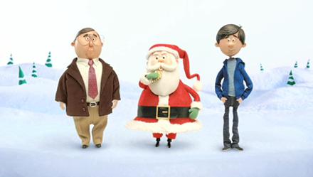 애플 크리스마스 광고