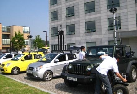 로드뷰 제작 차량