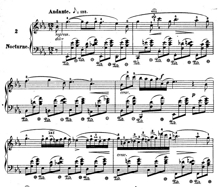 Nocturne in E flat major, op.9 no.2