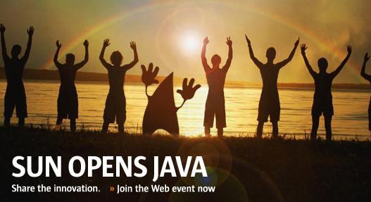 Sun Opens Java
